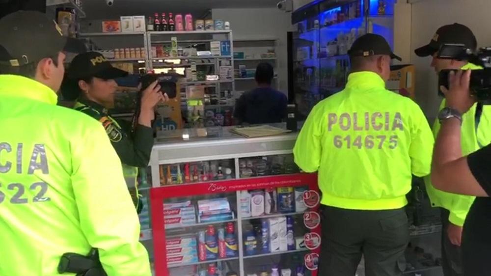 Droguería era usada para vender alucinógenos en el centro de Bucaramanga   EL FRENTE
