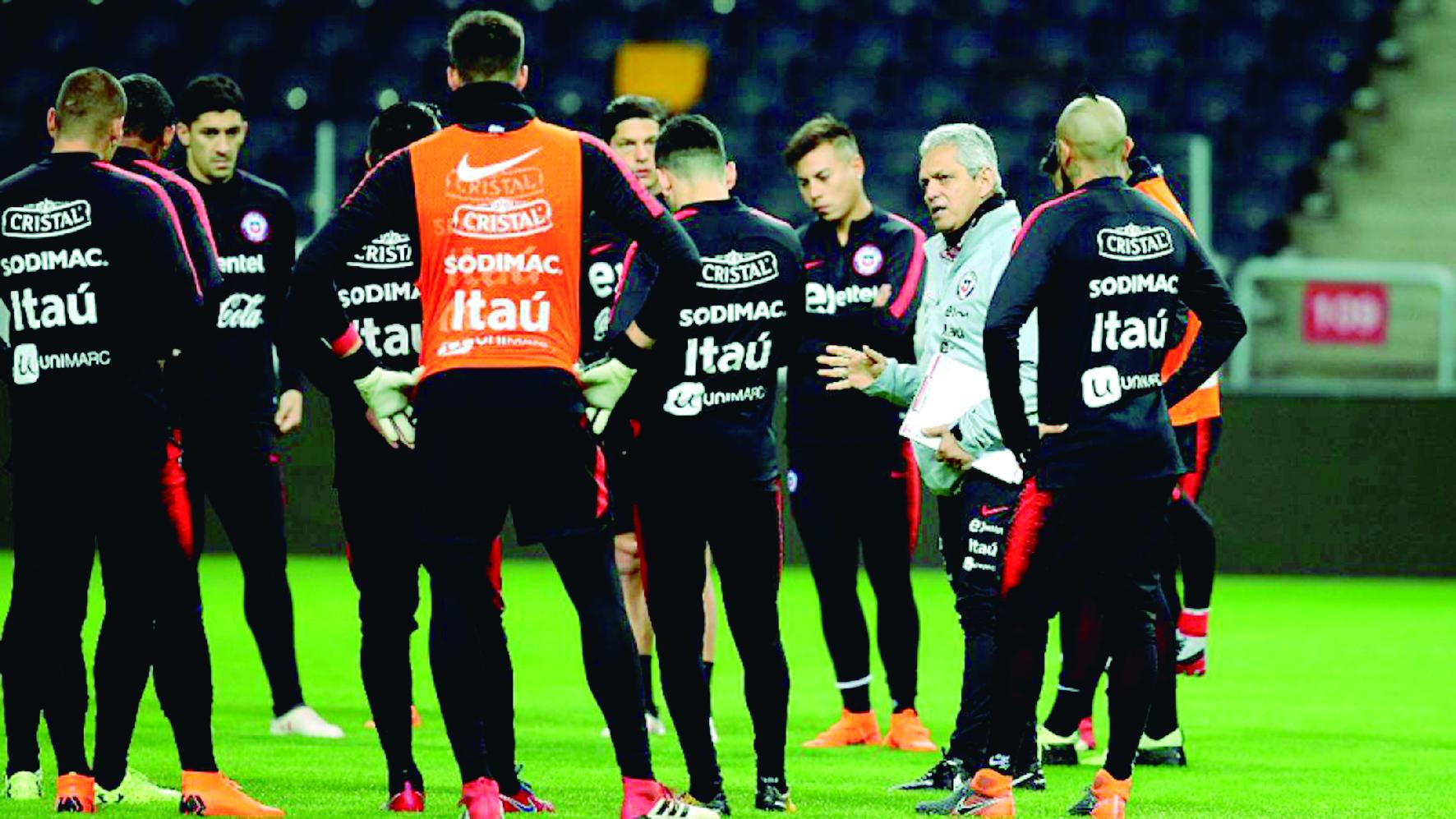 Jugadores chilenos deciden no jugar amistoso contra Perú | Internacional | Deportes | EL FRENTE