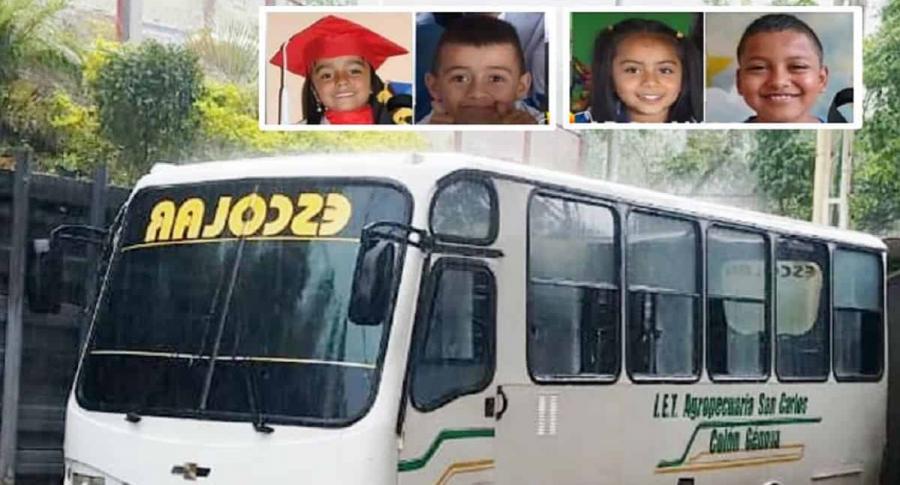Cuatro niños murieron en accidente de bus en Nariño | Nacional | Justicia | EL FRENTE