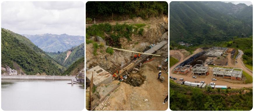 Avanzan obras para garantizar agua por 35 años al Área  | Metro | EL FRENTE