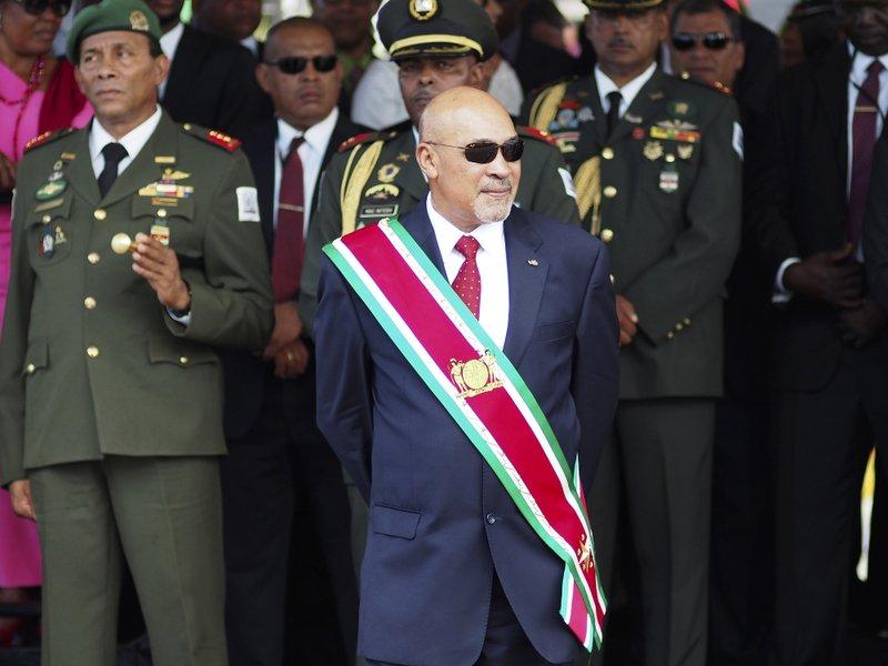 Condena de 20 años de prisión al presidente de Surinam  | EL FRENTE