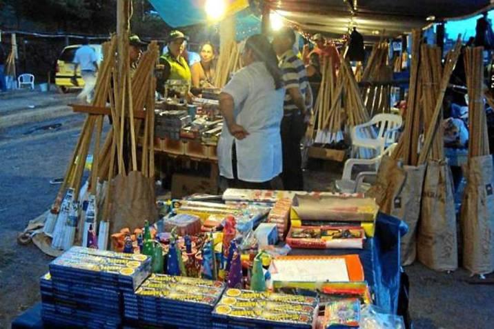 Uso y venta de pólvora en festividades. Nueve son los expendios autorizados en Barrancabermeja   | EL FRENTE