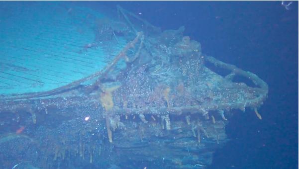 Encuentran buque de guerra alemán hundido frente a las Islas Malvinas | foto | EL FRENTE