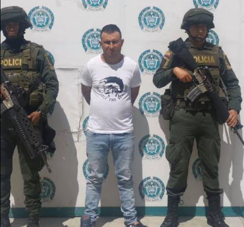 Cayó alias Piña, presunto homicida de dos policías en el sur del Cesar    EL FRENTE