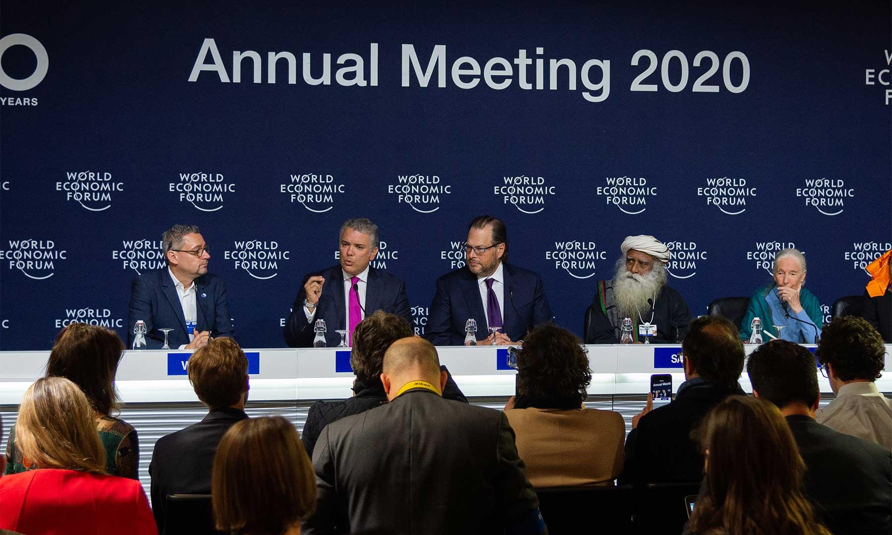 Cumbre de Davos ideal para que Colombia se presente como destino de inversión  | Economía | EL FRENTE