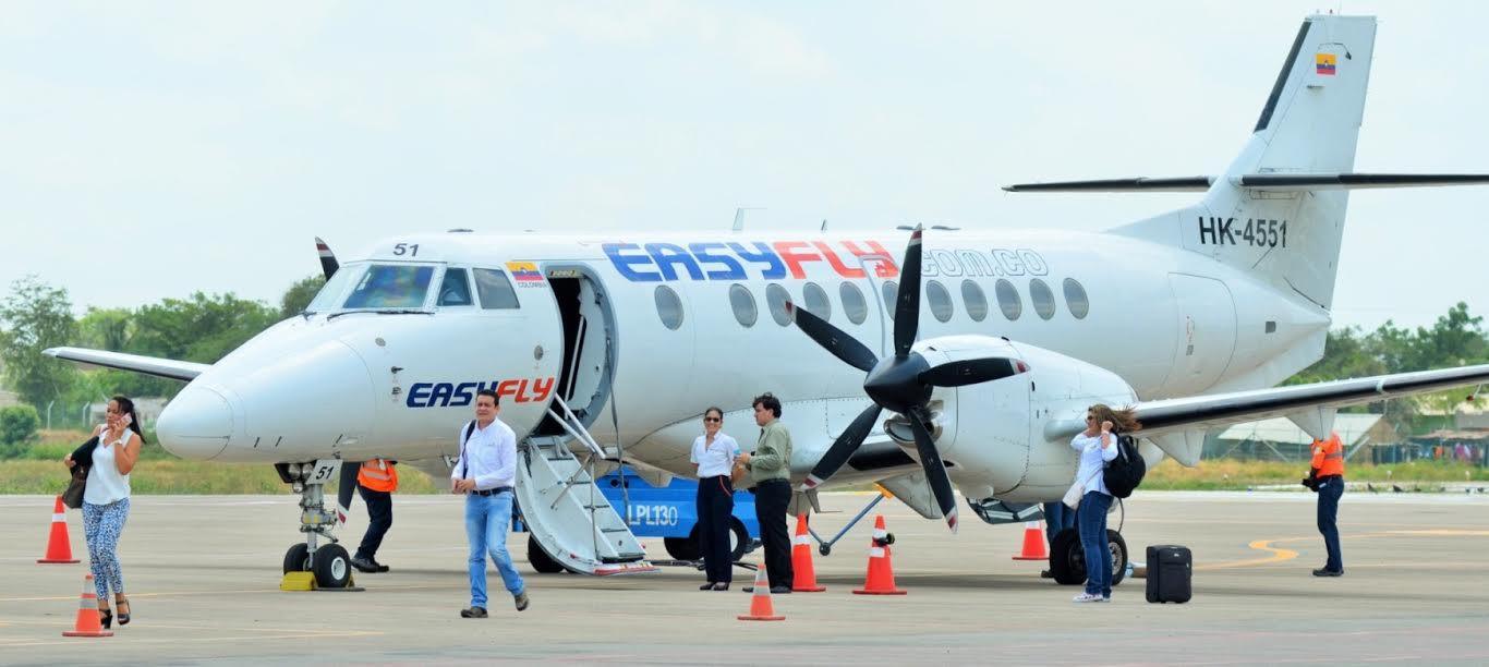 Vuelos entre Bogotá – Barrancabermeja - Bogotá. Easyfly anunció aumento de frecuencias en la ruta | Economía | EL FRENTE