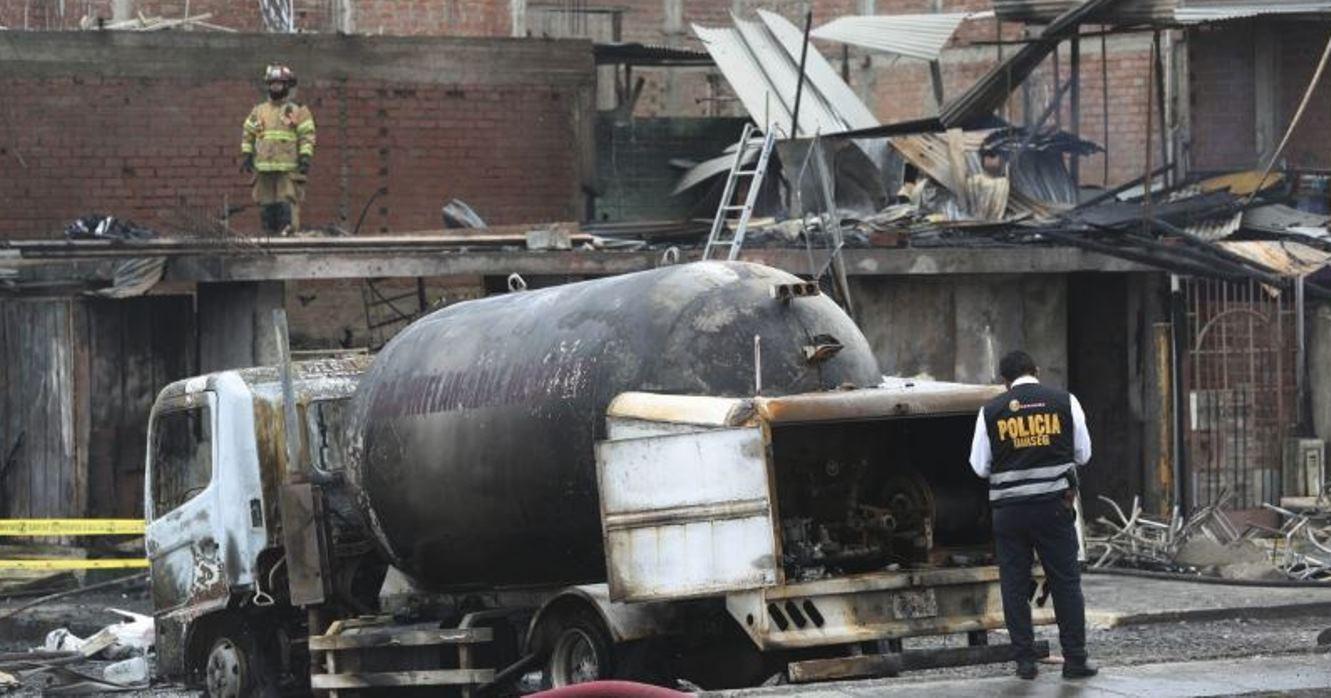 Ya son 15 los muertos por explosión de camión con gas en Lima | Mundo | EL FRENTE