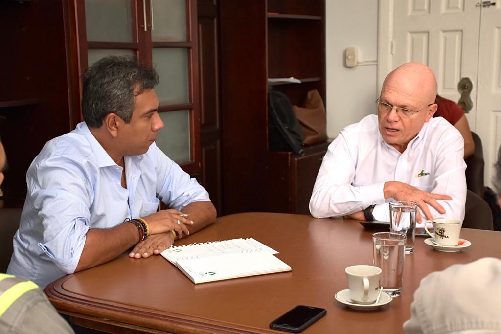 Importante convenio entre Alcaldía y Ecopetrol. Agenda conjunta para beneficio del Puerto Petrolero | Santander | EL FRENTE