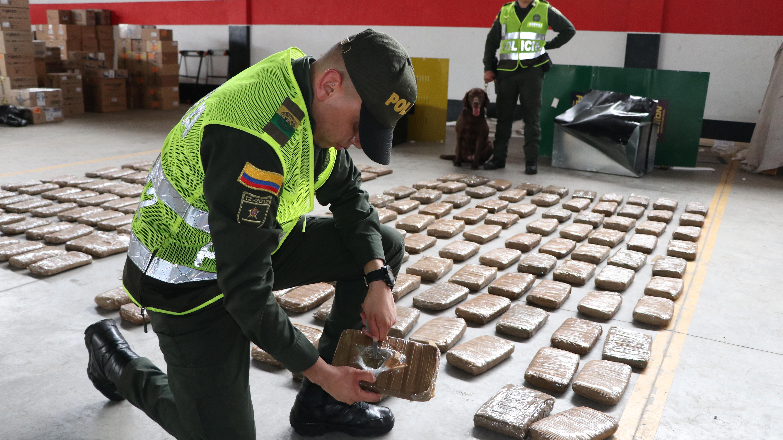 'Narcoencomienda' oculta en plantas eléctricas fue incautada por la policía | Local | Justicia | EL FRENTE