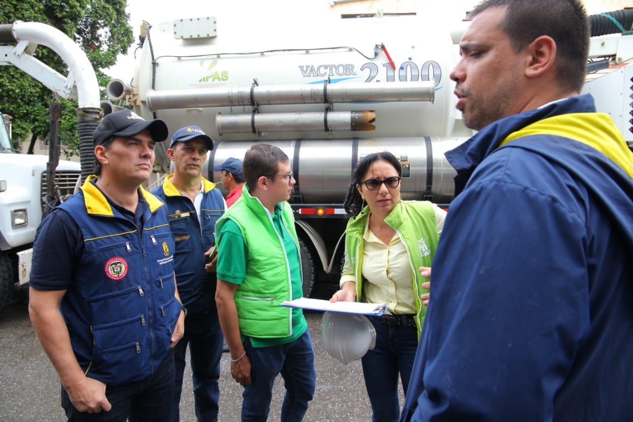 Gobernador se solidarizó con los afectados en Floridablanca | Santander | EL FRENTE
