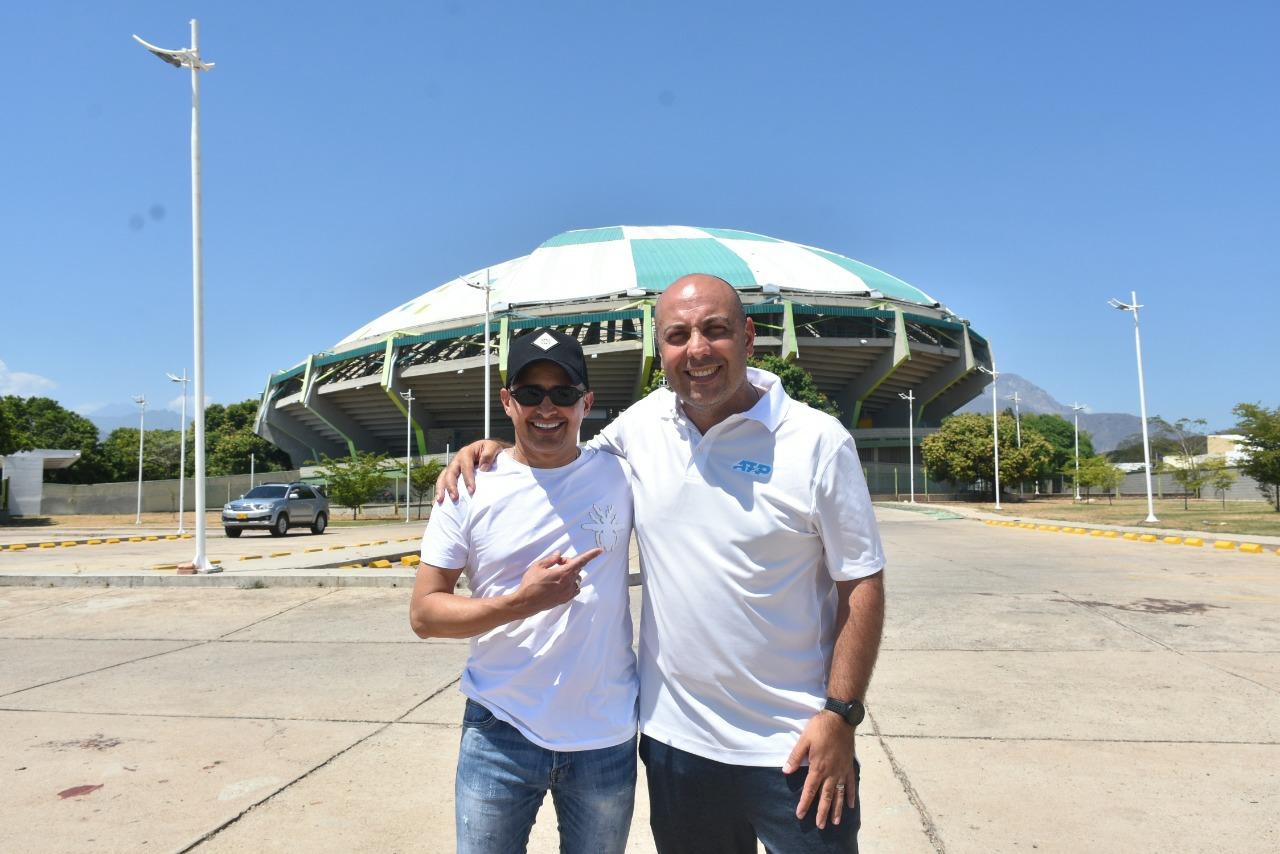 Iniciativa de Jorge Celedón en Challenger de tenis  | Deportes | EL FRENTE